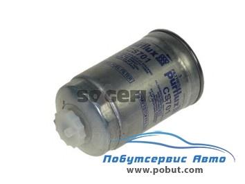корпус фильтр топливный renault trafic 2.1